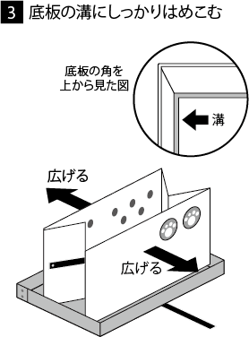 組み立て方法3